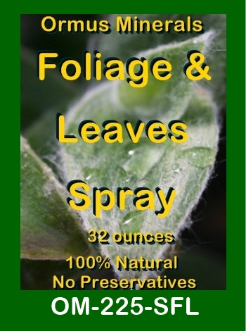 Ormus Minerals Foliage & Leaves Spray store