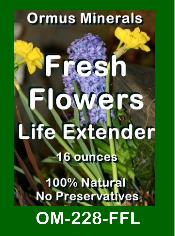 Ormus Minerals Fresh Flowers Life Extender store