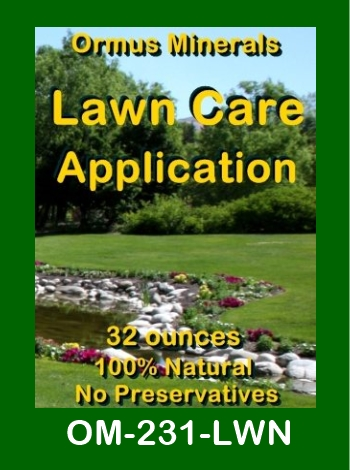 Ormus Minerals Lawn Care Application store