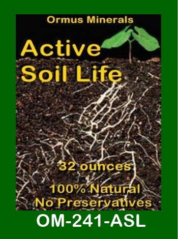 Ormus Minerals Active Soil Life store