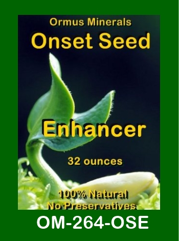 Ormus Minerals Onset Seed Enhancer store